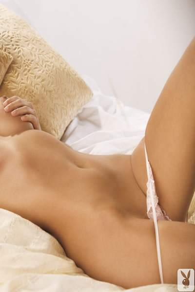 amelia talon playboy playmate miss june 2012 shows shaved vagina in white panties